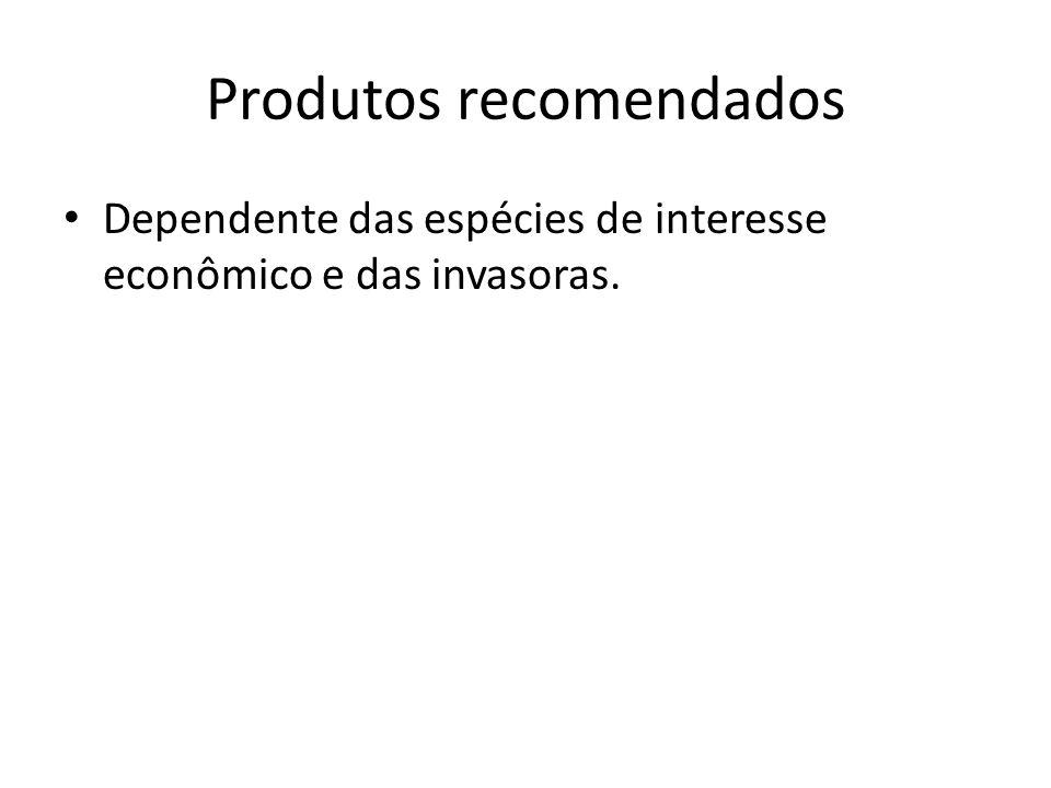 Produtos recomendados