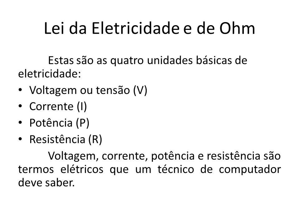 Lei da Eletricidade e de Ohm