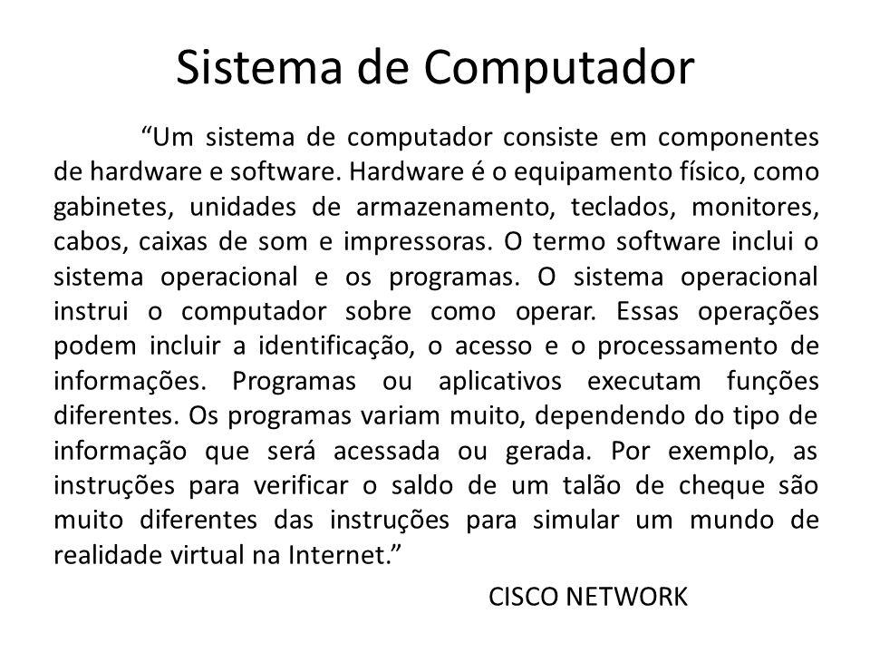 Sistema de Computador