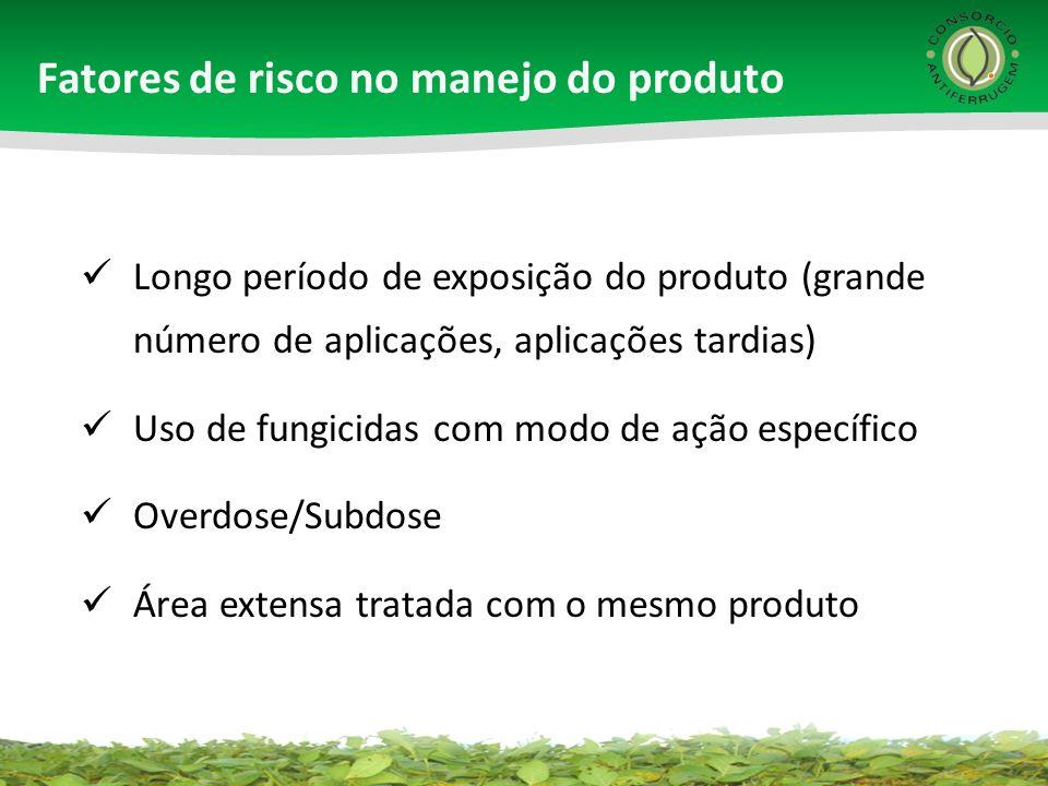 Fatores de risco no manejo do produto