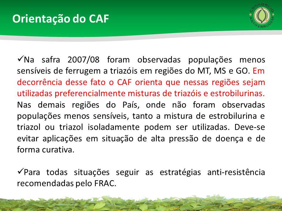 Orientação do CAF