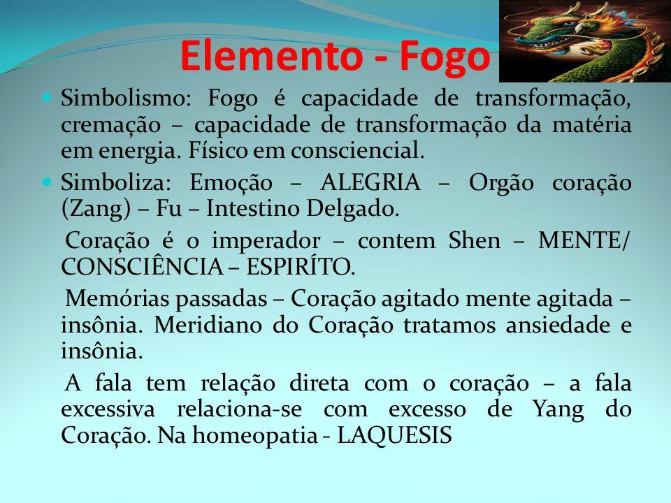 Elemento - Fogo Simbolismo: Fogo é capacidade de transformação, cremação – capacidade de transformação da matéria em energia. Físico em consciencial.