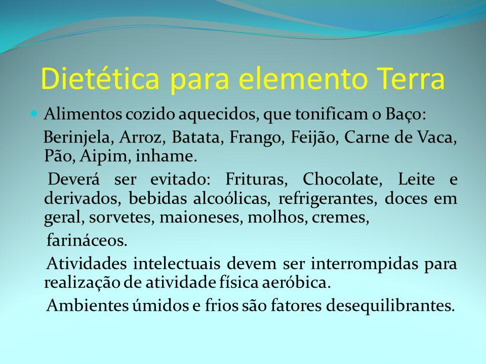 Dietética para elemento Terra