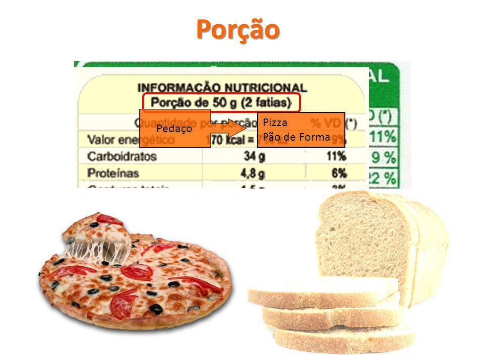 Porção Pedaço Pizza Pão de Forma
