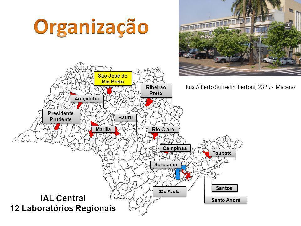12 Laboratórios Regionais