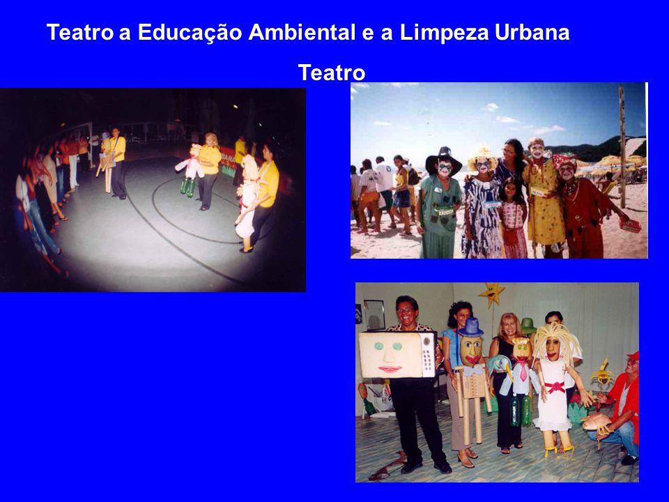 Teatro a Educação Ambiental e a Limpeza Urbana