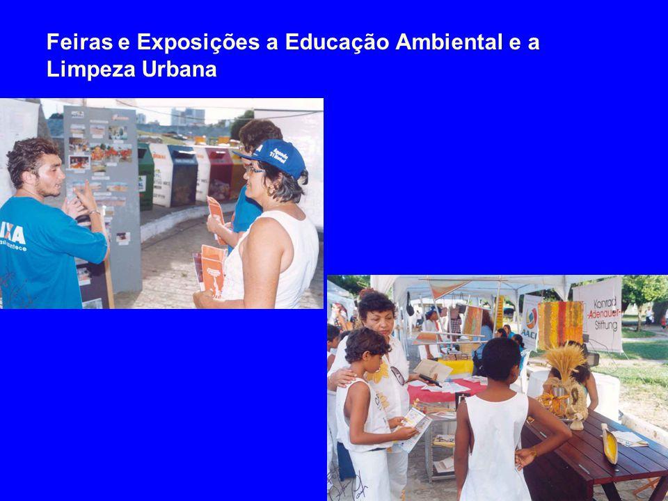 Feiras e Exposições a Educação Ambiental e a Limpeza Urbana