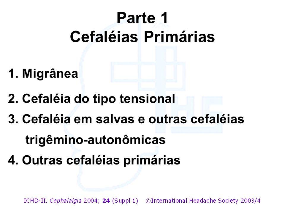 Parte 1 Cefaléias Primárias