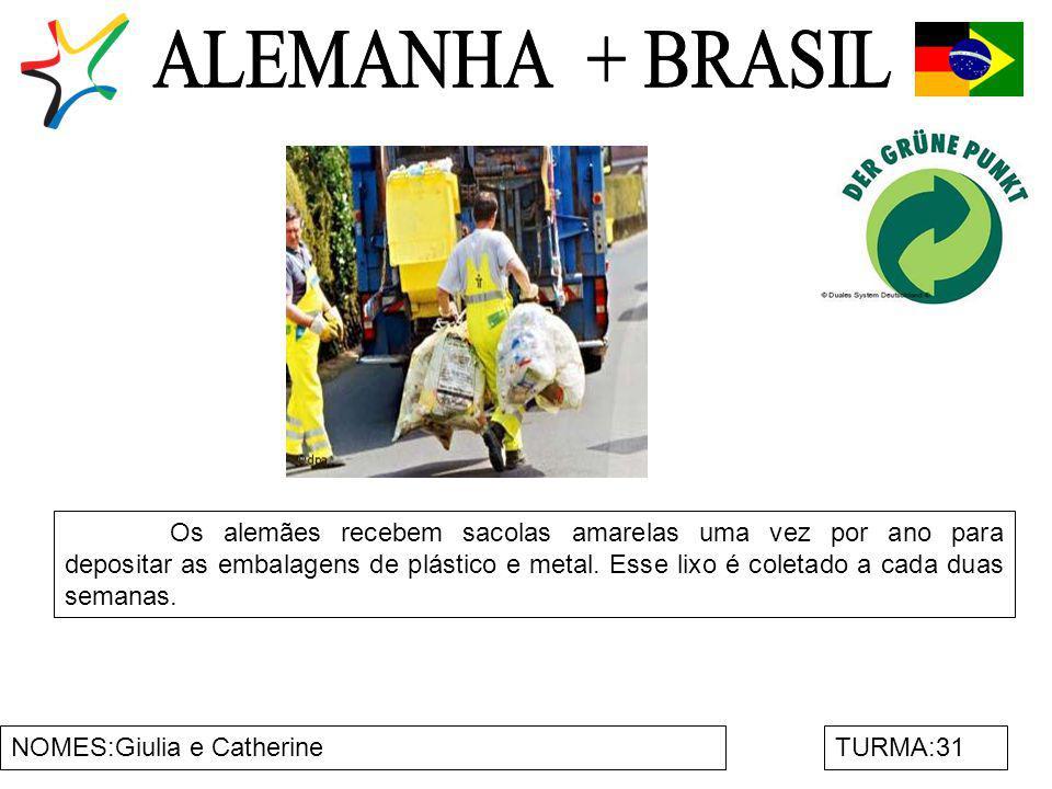 ALEMANHA + BRASIL