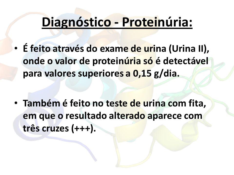 Diagnóstico - Proteinúria: