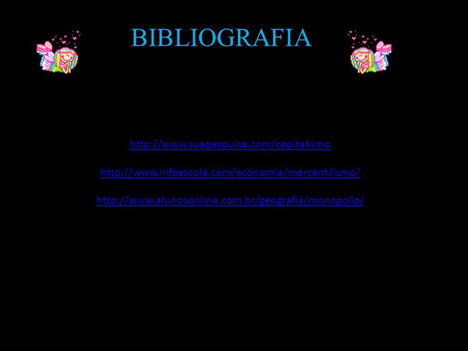 BIBLIOGRAFIA http://www.suapesquisa.com/capitalismo