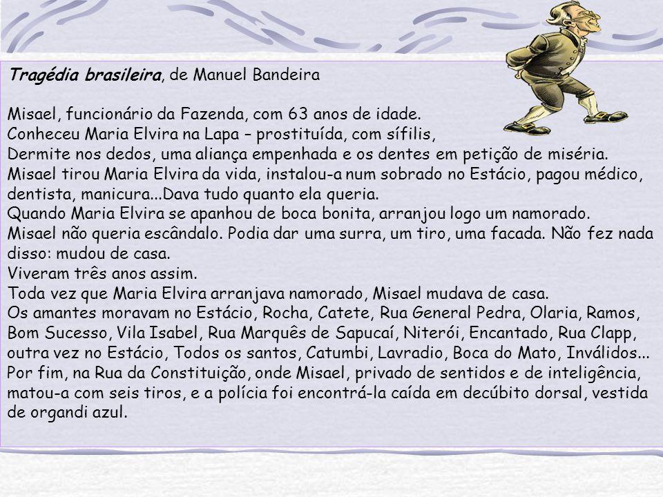 Tragédia brasileira, de Manuel Bandeira