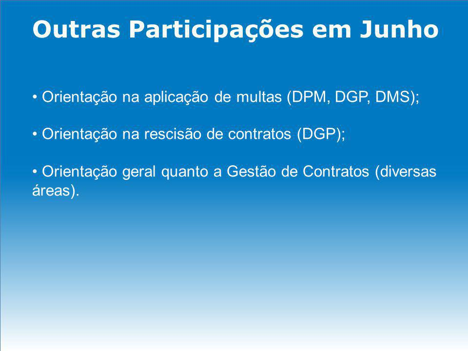 Outras Participações em Junho