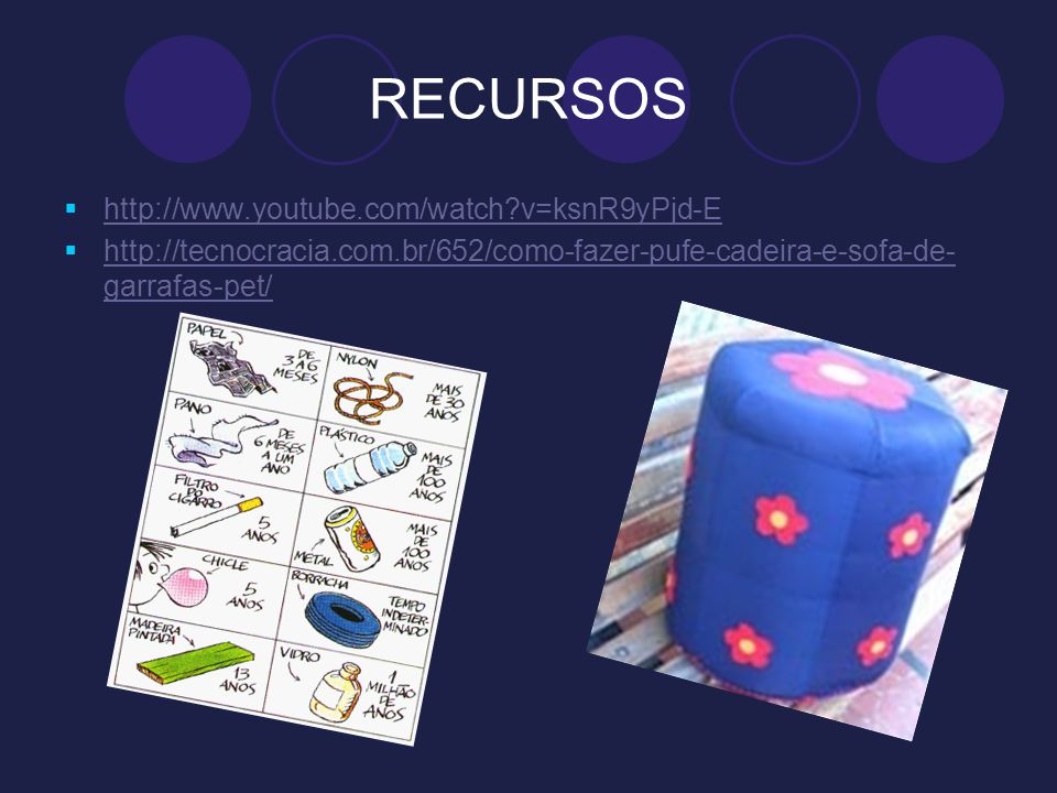 RECURSOS http://www.youtube.com/watch v=ksnR9yPjd-E