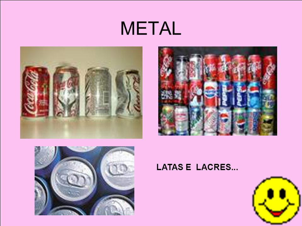 METAL LATAS E LACRES...
