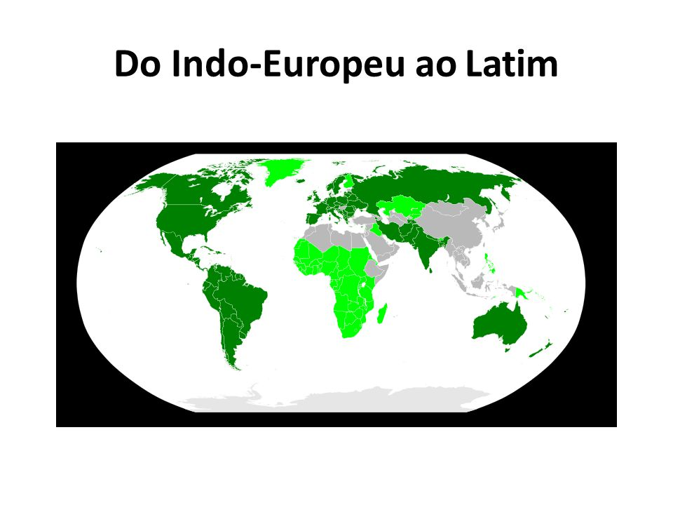 Do Indo-Europeu ao Latim