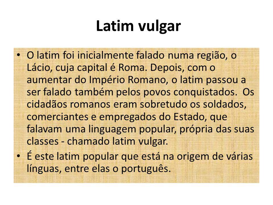 Latim vulgar