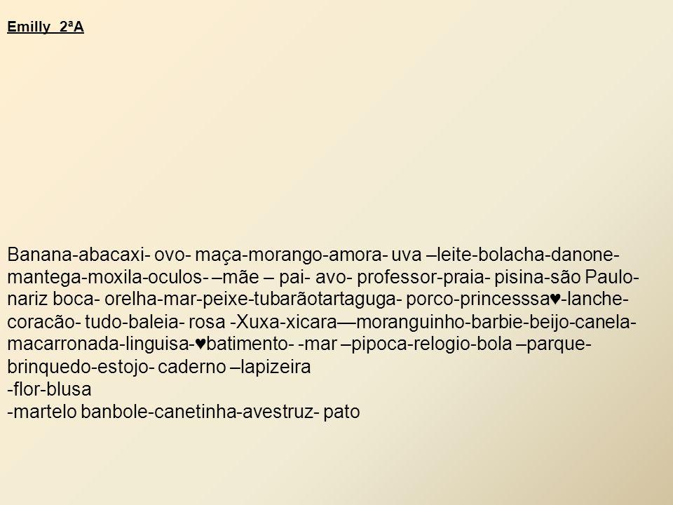 -martelo banbole-canetinha-avestruz- pato