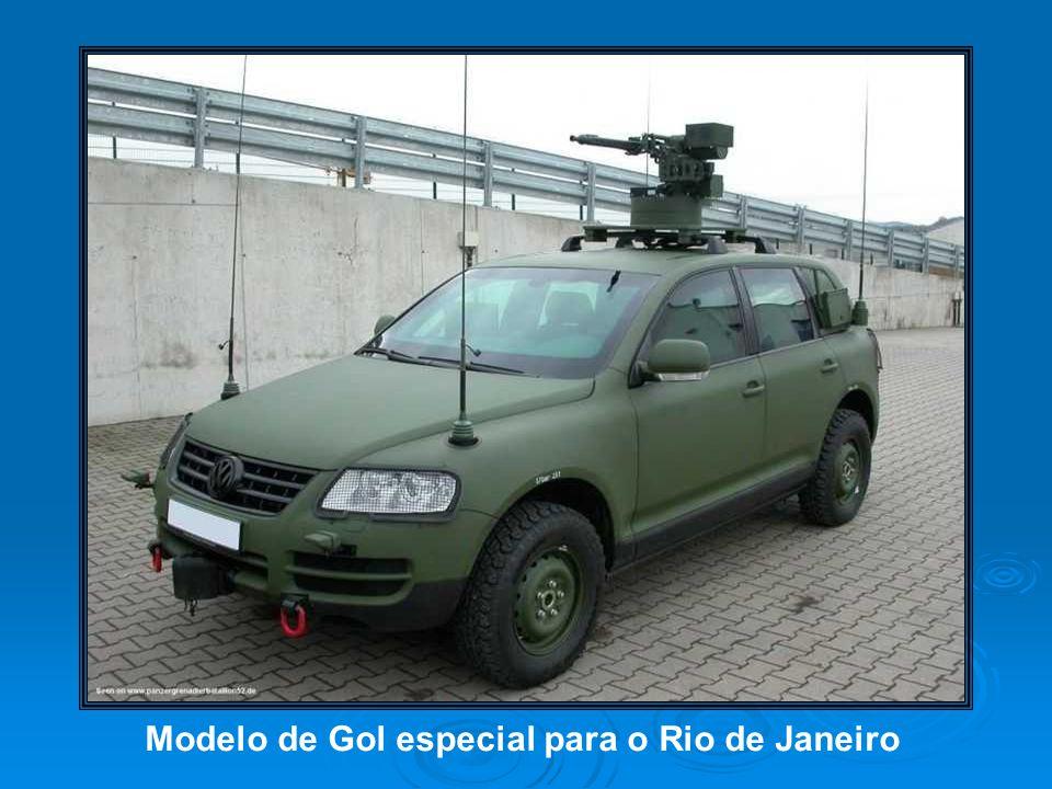 Modelo de Gol especial para o Rio de Janeiro