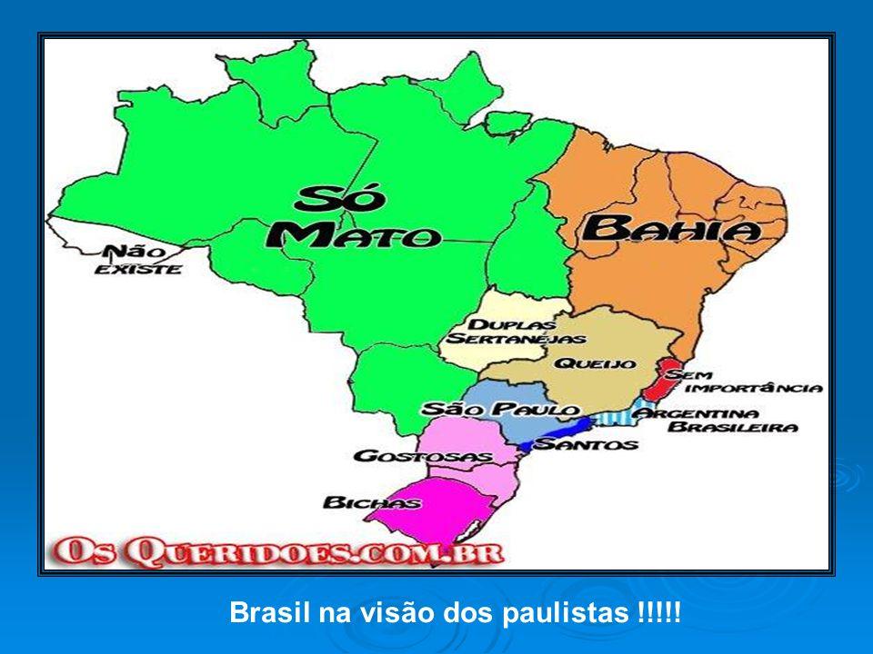 Brasil na visão dos paulistas !!!!!