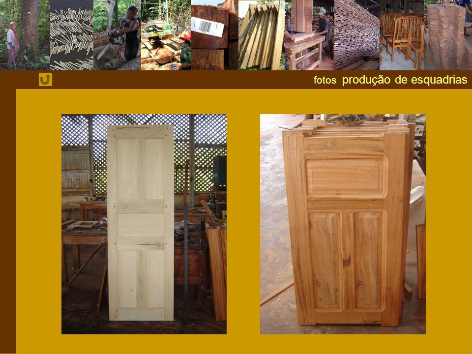 fotos produção de esquadrias