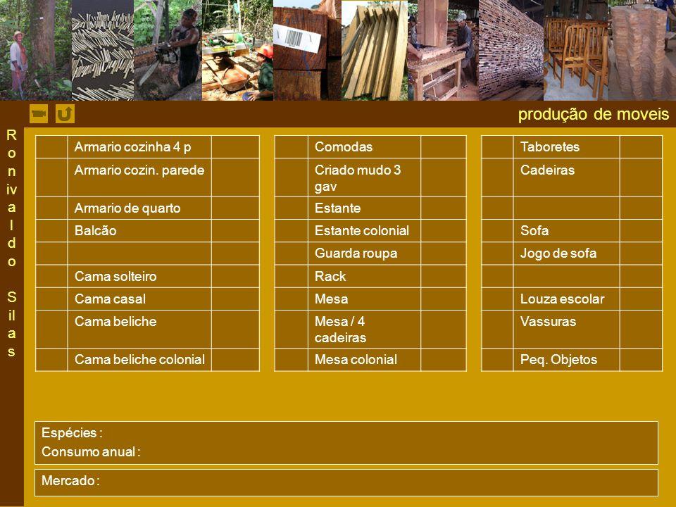 produção de moveis Ronivaldo Silas Armario cozinha 4 p Comodas