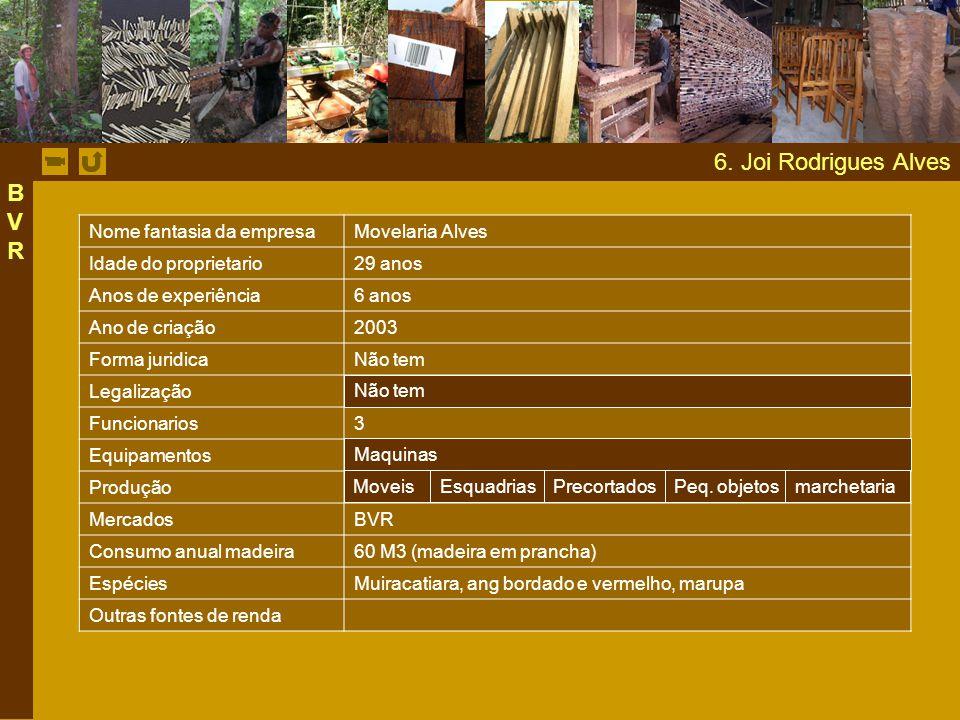6. Joi Rodrigues Alves BVR Nome fantasia da empresa Movelaria Alves