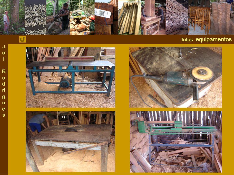 Joi Rodrigues fotos equipamentos