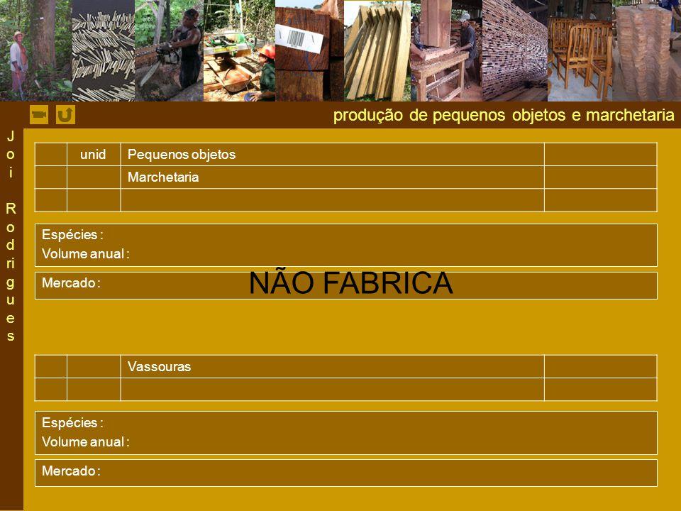 NÃO FABRICA produção de pequenos objetos e marchetaria Joi Rodrigues
