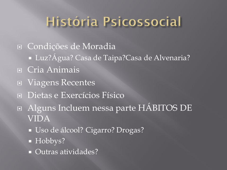 História Psicossocial