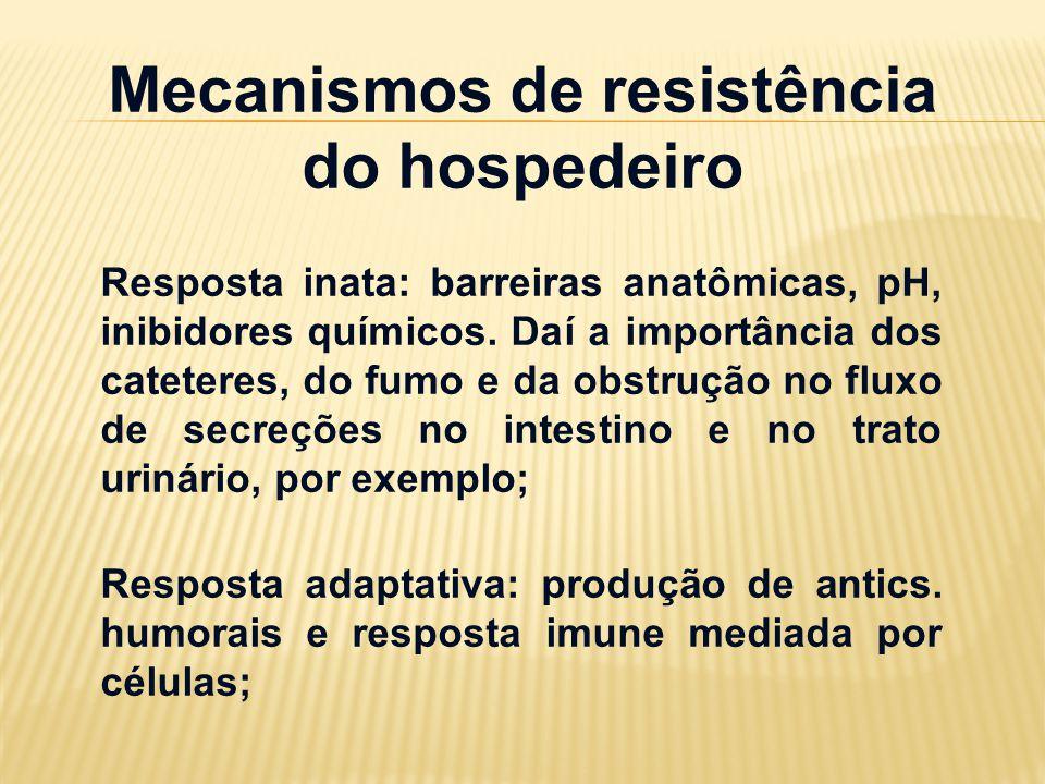 Mecanismos de resistência do hospedeiro