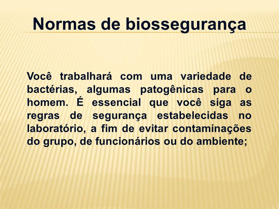 Normas de biossegurança