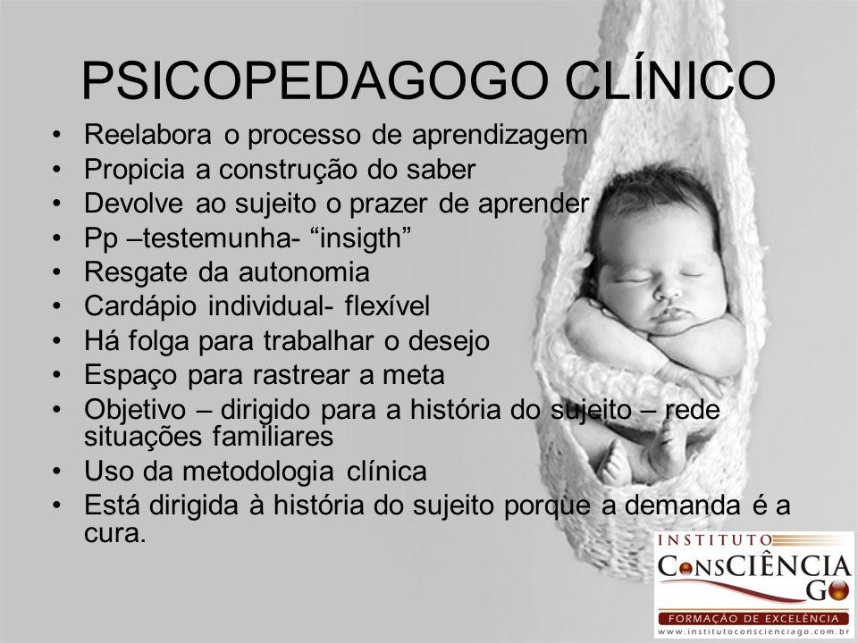 PSICOPEDAGOGO CLÍNICO