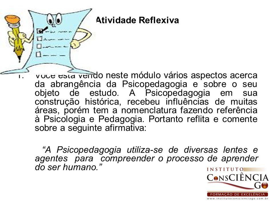 Atividade Reflexiva