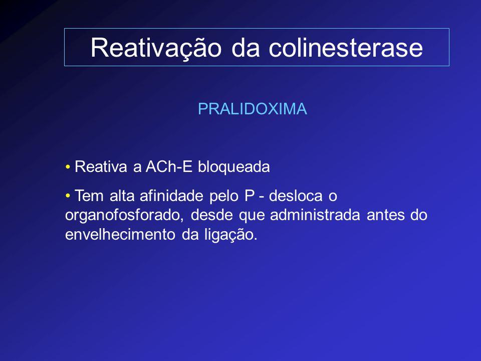 Reativação da colinesterase
