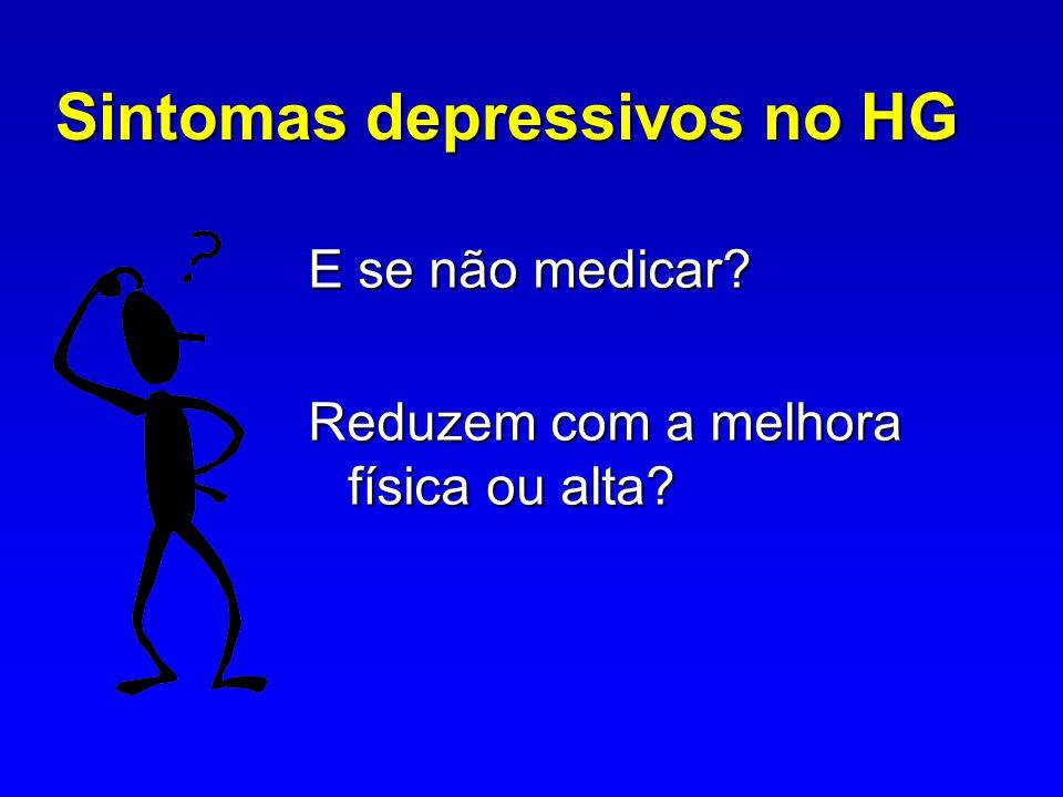 Sintomas depressivos no HG