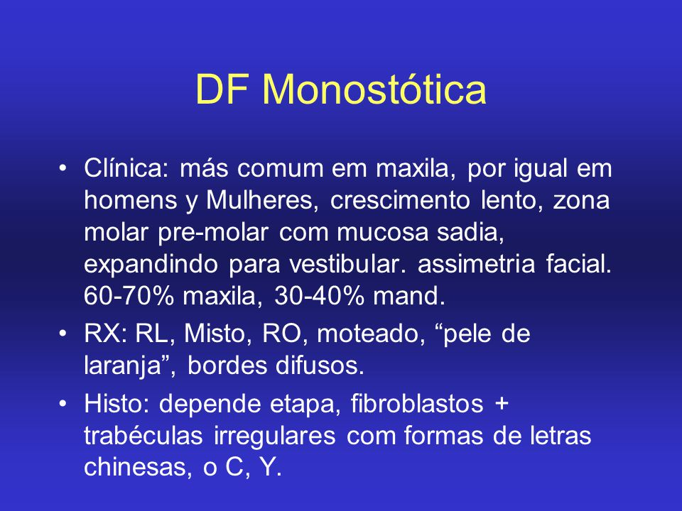 DF Monostótica