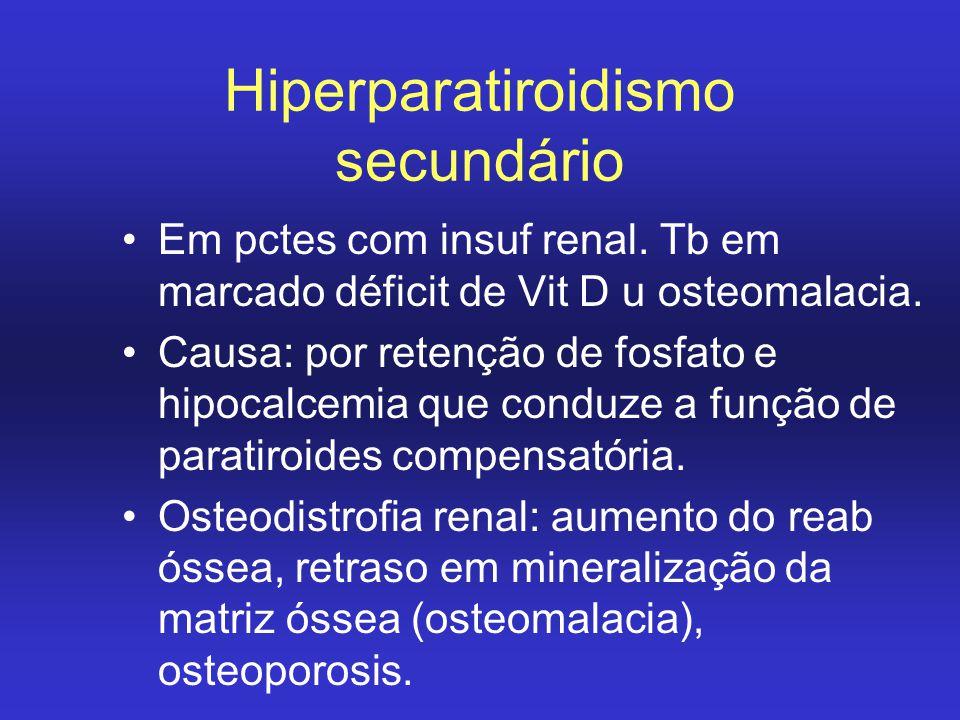 Hiperparatiroidismo secundário