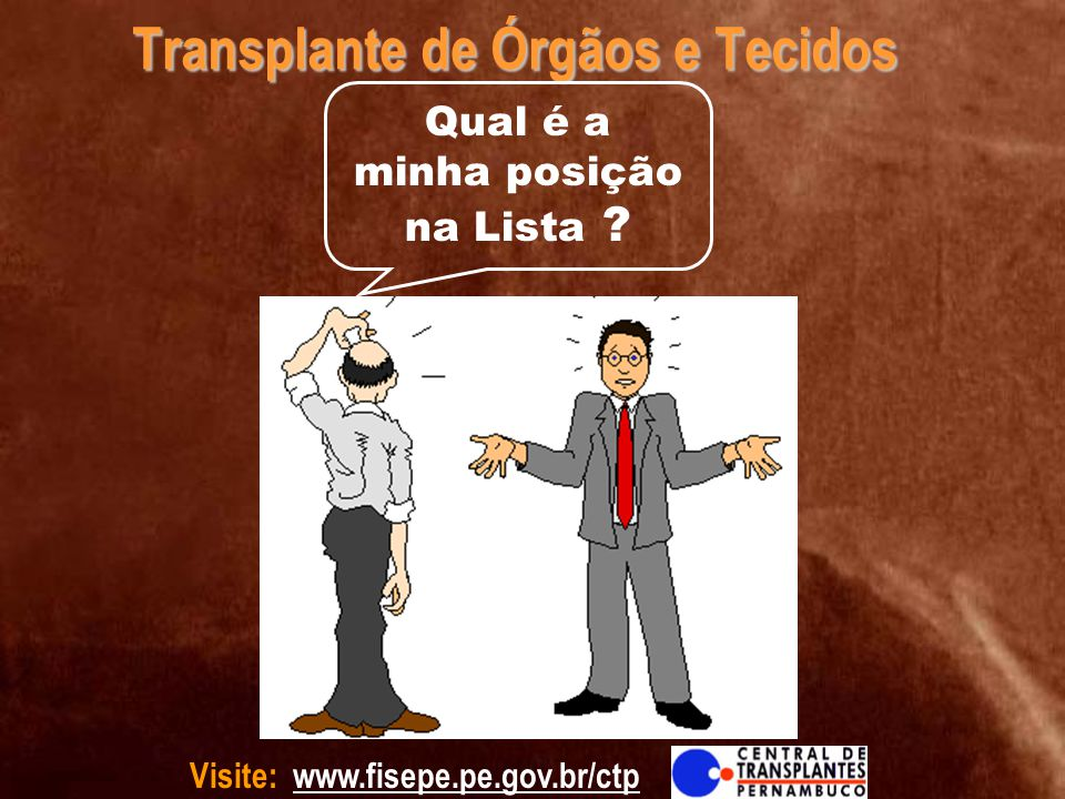 Transplante de Órgãos e Tecidos
