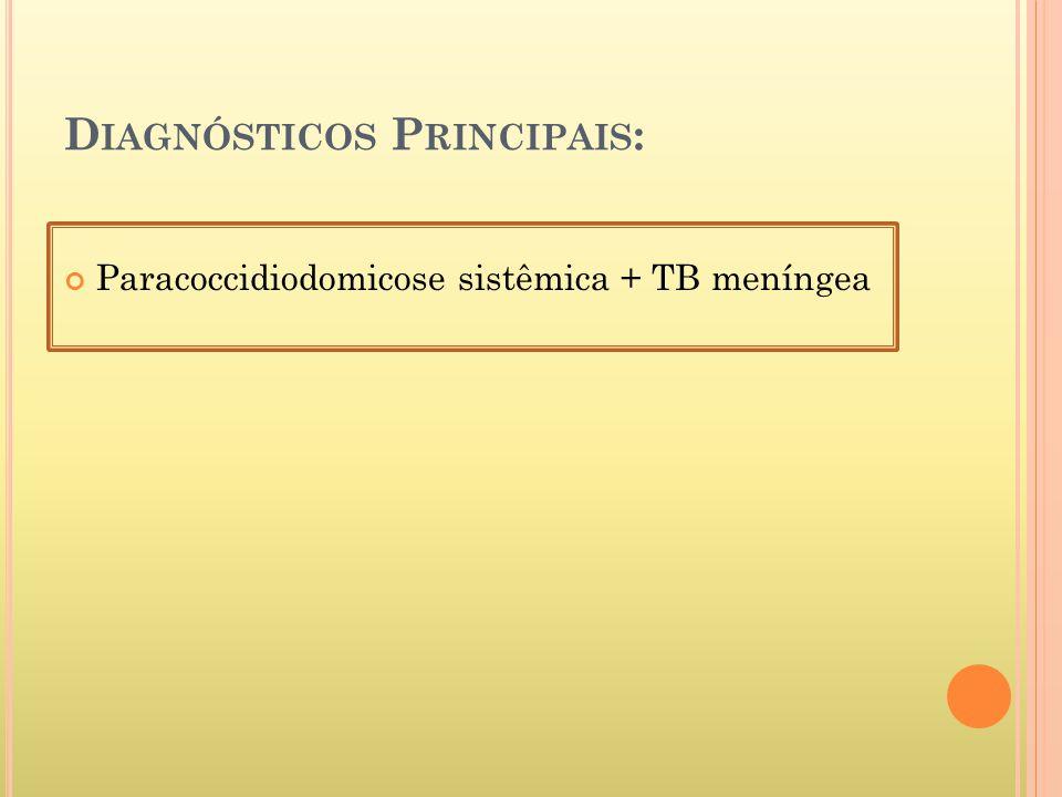 Diagnósticos Principais:
