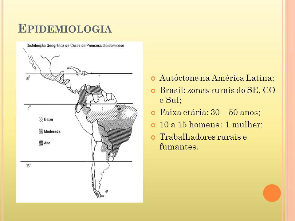 Epidemiologia Autóctone na América Latina;