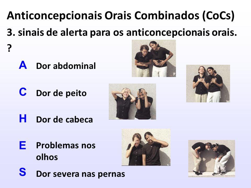 Anticoncepcionais Orais Combinados (CoCs)