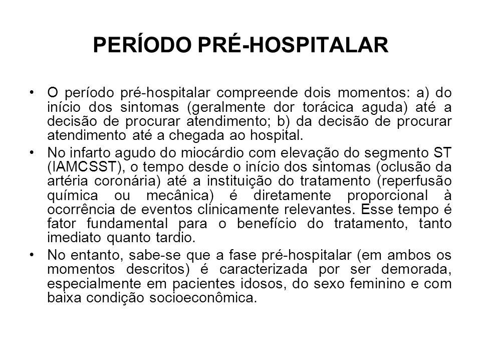 PERÍODO PRÉ-HOSPITALAR