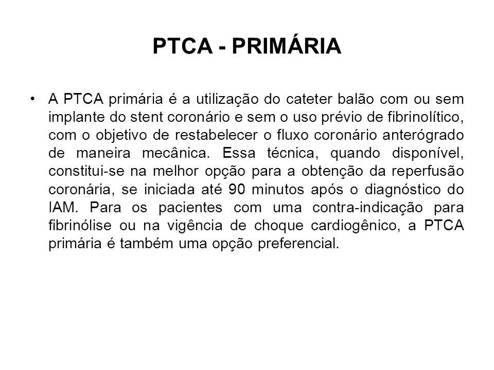 PTCA - PRIMÁRIA