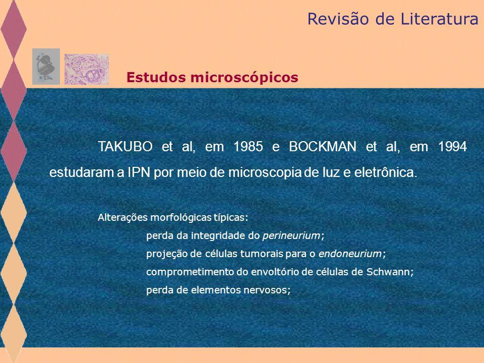 Revisão de Literatura Estudos microscópicos.