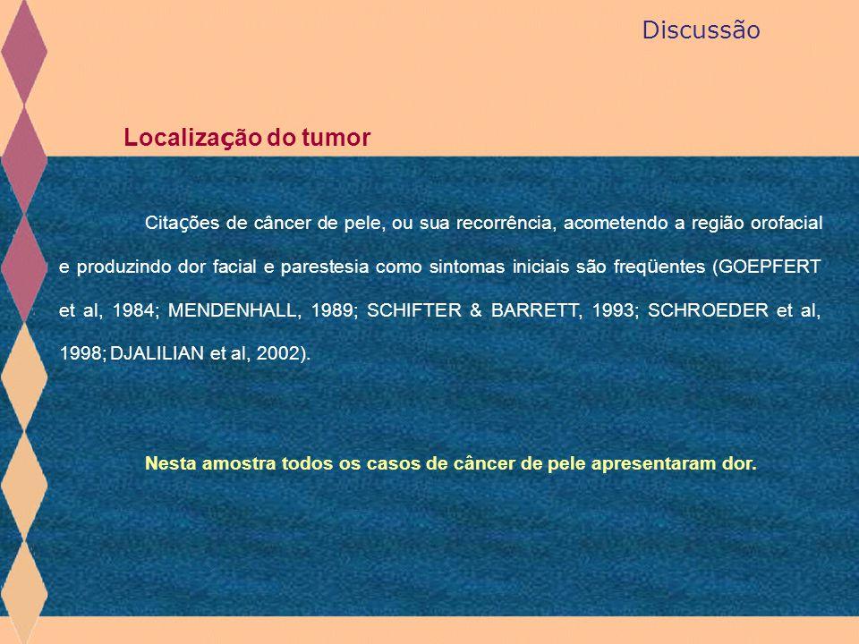 Discussão Localização do tumor
