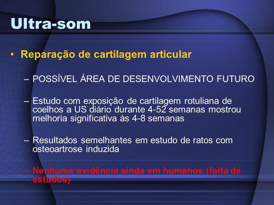 Ultra-som Reparação de cartilagem articular
