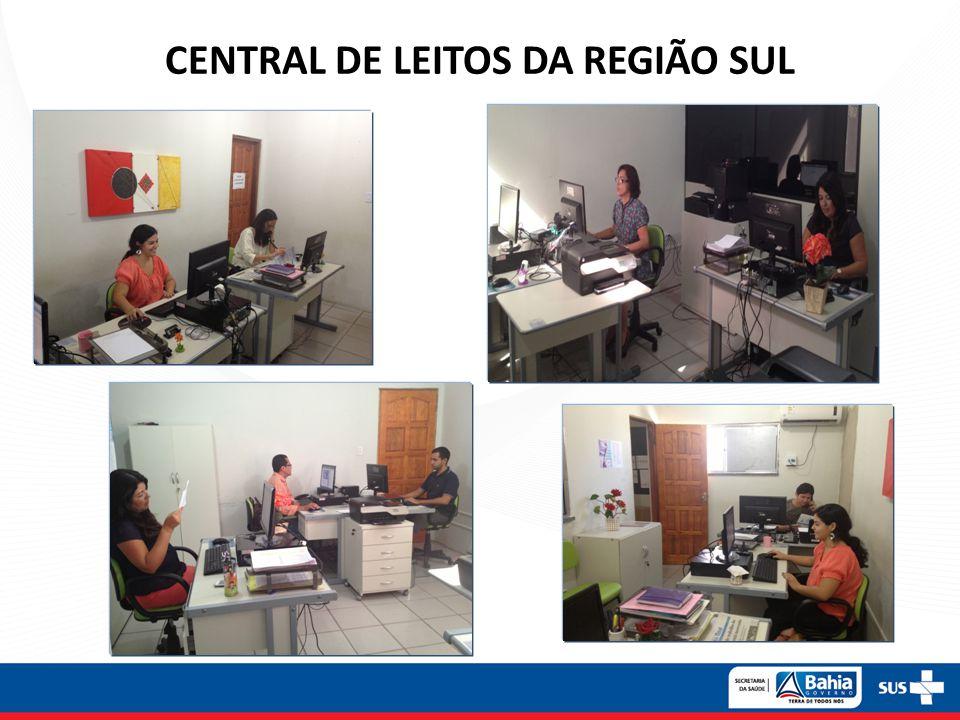 CENTRAL DE LEITOS DA REGIÃO SUL