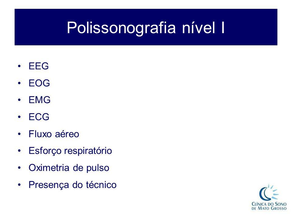 Polissonografia nível I