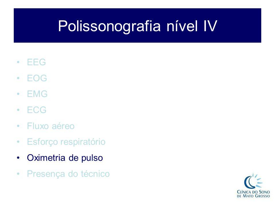 Polissonografia nível IV